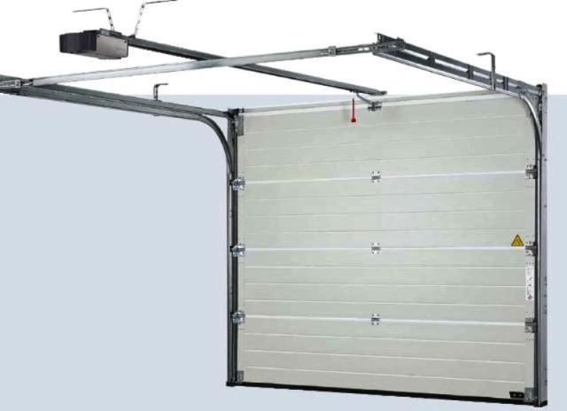 Puertas de garaje seccionales for Puerta garaje basculante precio