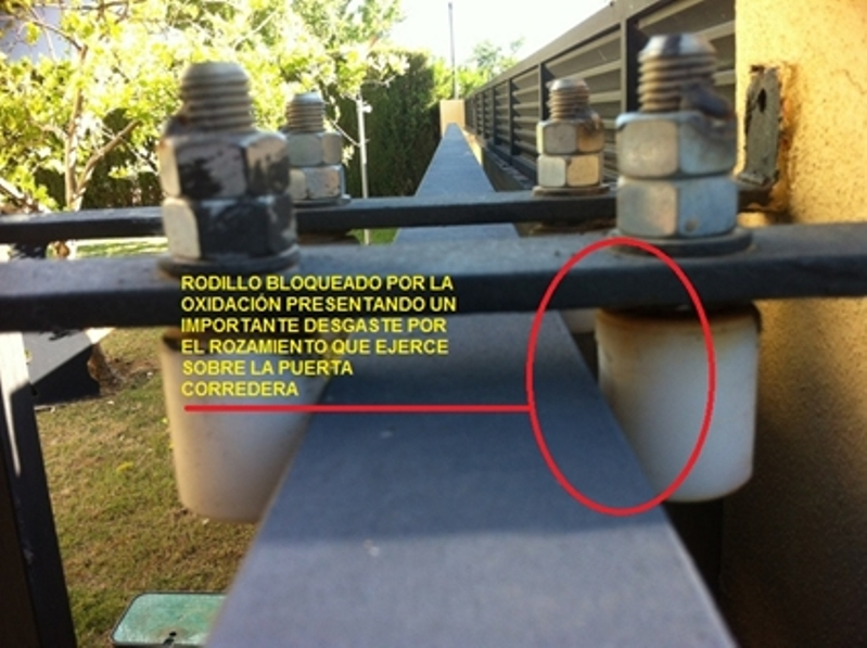 Para la sustituciu00f3n de componentes de la puerta rotos, deteriorados o ...