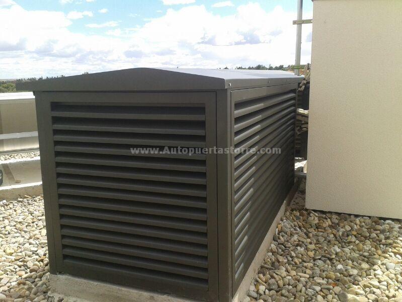 Caseta met lica para aire acondicionado for Maquinas de aire acondicionado baratas