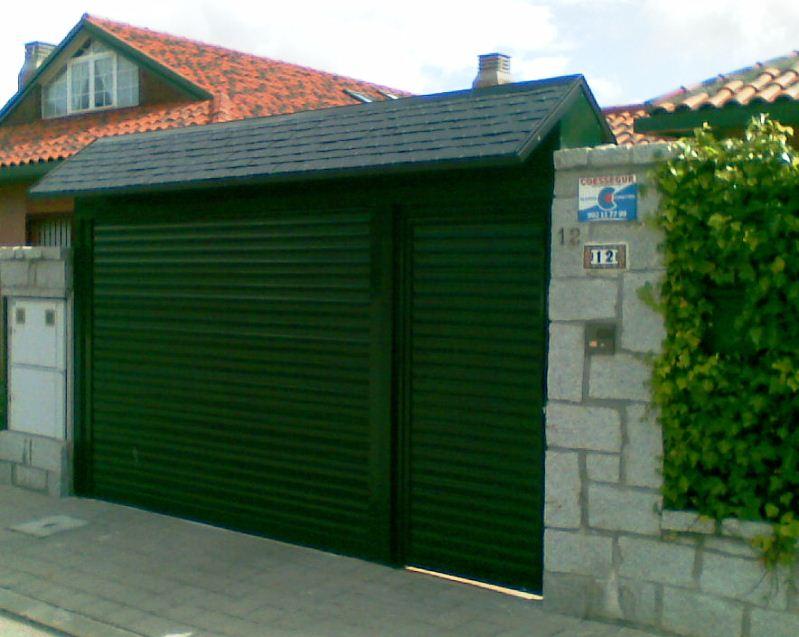 Puertas de garaje enrollables baratas puertas de garaje for Puertas en malaga baratas