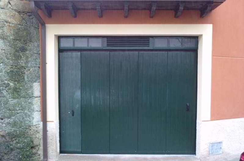 Puerta de garaje corredera curva for Puertas correderas madrid