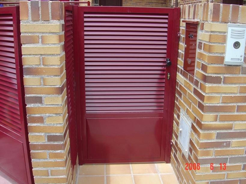 Cancelas de hierro las rozas - Puertas de hierro para jardin ...