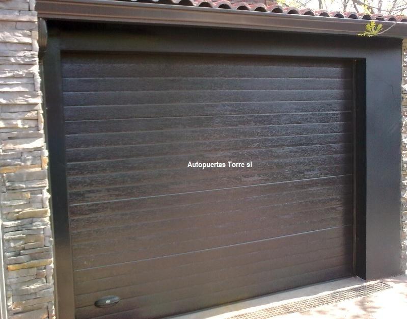 Puertas de garaje enrollables baratas latest interesting - Puertas de garaje baratas ...