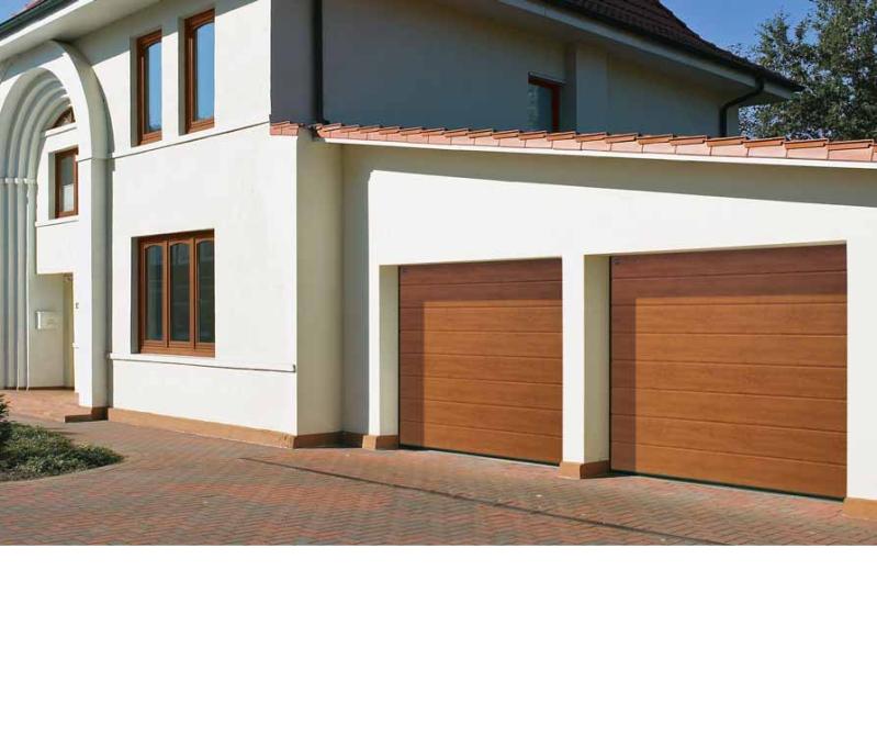 puertas de garaje sanlcar la mayor seccionales imitacion madera